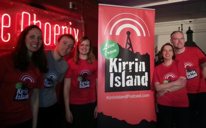 Kirrin Island cast